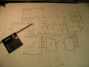 Tile Installation plans with measurements