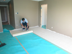 Laminate Installation floating floor