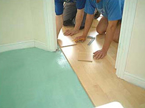 Laminate Installation sub-floor preparation