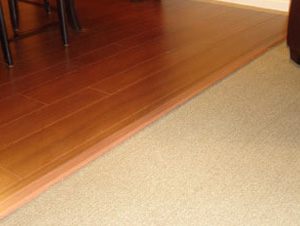Carpet Installation Transitions